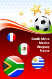 World Soccer Event Group A Royalty Free Stock Image