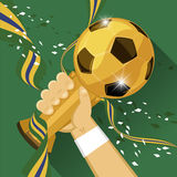 World soccer winner Royalty Free Stock Photo