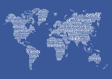 The world of social networking Stock Photos
