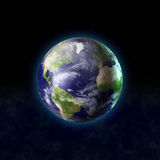 World from space Stock Image