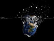 World splash Stock Photography
