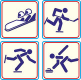 World Sport training, icon,  Illustrations Royalty Free Stock Image