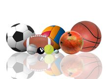 World of sports Stock Image