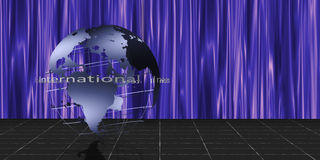 World Stage stock illustration