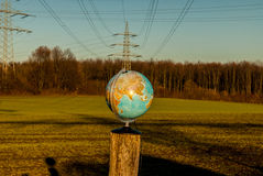 The world on stake Stock Photography