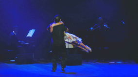 World stars of tango - Sabor del Tango stock video footage