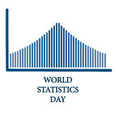 World statistics day. Celebrate on october 20 Stock Photography