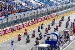 World Superbike Race Jerez 2016 Stock Photos
