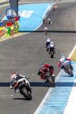 World Superbike Race Jerez 2016 Stock Image