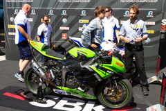 World Supersport Championship Stock Photography