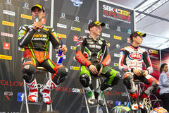 World Supersport Championship Royalty Free Stock Photo