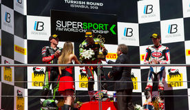 World Supersport Championship Royalty Free Stock Image