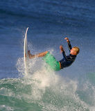 World Surfing Champ Fanning royalty free stock images