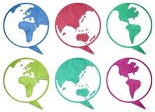 World talk Stock Photo