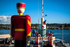 World Tallest Tin Soldier Royalty Free Stock Image
