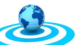 World Target Royalty Free Stock Image