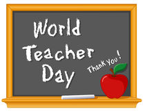 World Teacher Day Royalty Free Stock Image