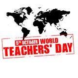 World teachers day Stock Photo