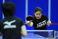 World Team Table Tennis Championships Stock Photography
