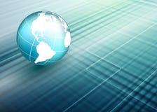World Techno Backdrop Stock Photo