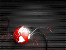 World techno backdrop Royalty Free Stock Images