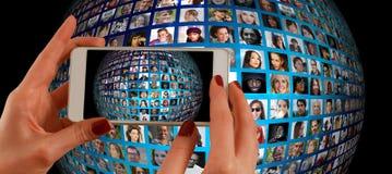 World, Technology royalty free stock photography