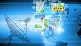 World technology Stock Image