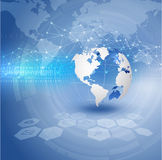 World and technology background,  Stock Images