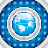 World technology. Brochure.Business vector Royalty Free Stock Photos