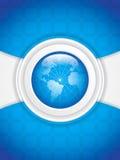 World technology. Brochure vector illustration Stock Photos