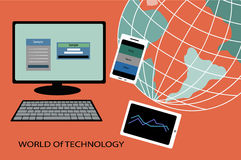 World of technology Stock Images
