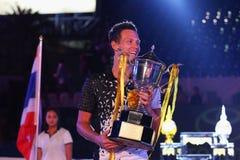 World Tennis Championship 2015 Royalty Free Stock Photo