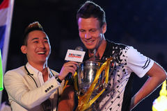 World Tennis Championship 2015 Stock Photos