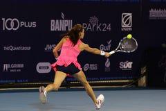 World Tennis Thailand Championship 2016 Stock Photo