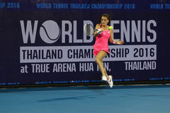World Tennis Thailand Championship 2016 Royalty Free Stock Images