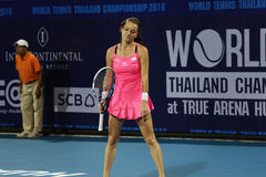 World Tennis Thailand Championship 2016 Royalty Free Stock Photos