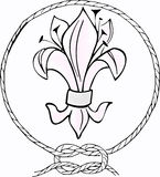 World Thinking Day. Thinking Day - holliday of scouts, 22 february Stock Images