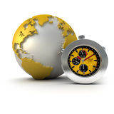 The world on time Stock Images