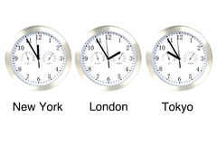 World time. Stock Image