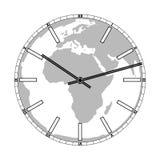 World Time Illustration Royalty Free Stock Photography