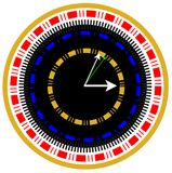 World time watch illustration Royalty Free Stock Photo