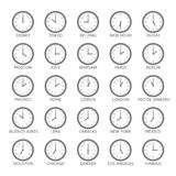 World Time Zone Royalty Free Stock Photography