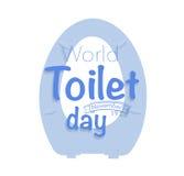 World toilet day, november 19 Royalty Free Stock Photos