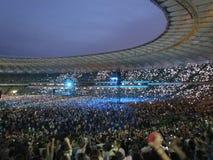 World tour concert Okean Elzy in Kiev Royalty Free Stock Photos