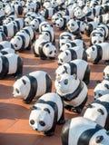 World tour 1600 pandas in Bangkok Stock Photos