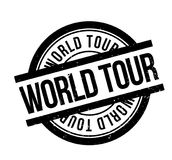 World Tour rubber stamp Stock Photography
