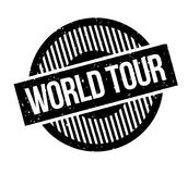 World Tour rubber stamp Royalty Free Stock Photography