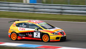 World touring car championship in brno 2009 tarqin stock photos