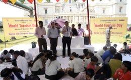 World Tourism day celebration. Royalty Free Stock Photo
