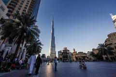 World Trade Center και Burj Khalifa του Ντουμπάι Στοκ φωτογραφία με δικαίωμα ελεύθερης χρήσης